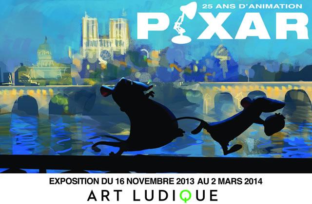 Pixar, 25 ans d'animation : les studios s'exposent à Paris !