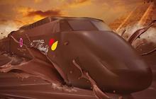Le train du chocolat fait la tournée des gares parisiennes !