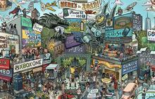 La pop-culture de 2013 en une illustration