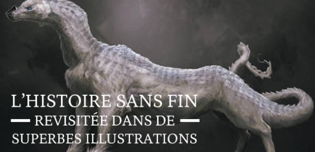L'Histoire Sans Fin revisitée dans de superbes illustrations