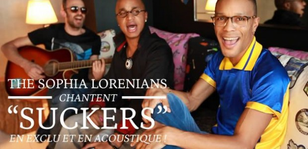 The Sophia Lorenians chantent « Suckers » en exclu et en acoustique !