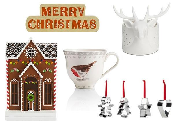 Les décorations de Noël de Marks and Spencer