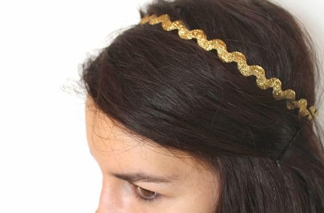 DIY — Un headband qui scintille pour les fêtes !