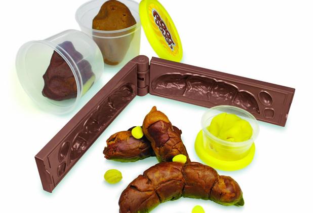 Un kit pour étron en pâte à modeler — Idée cadeau pourrie