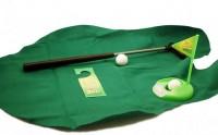 Le kit de golf pour toilettes — Idée cadeau pourrie
