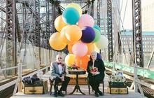 Un couple marié depuis 61 ans photographié façon «Là-Haut »