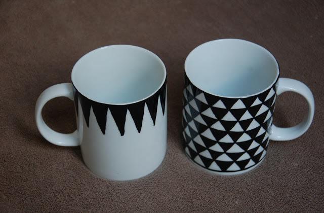 DIY — Des mugs graphiques à tout petit prix