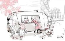 Le Nail Truck de Gloss'UP arrive dans les rues de Paris !