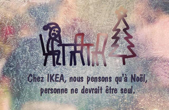 La plateforme anti-solitude à Noël d'IKEA Suisse