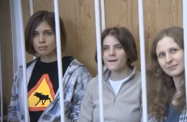 Les Pussy Riot et les militants de Greenpeace sont libres !