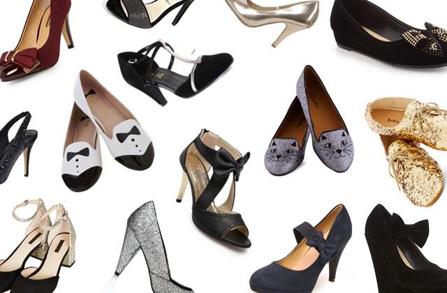 Sélection shopping spéciale chaussures de fête
