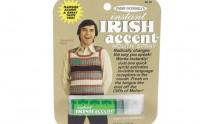 Le spray buccal pour accent irlandais – Idée cadeau pourrie #2