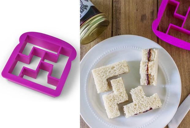 un d coupe sandwich fa on tetris id e cadeau cool. Black Bedroom Furniture Sets. Home Design Ideas