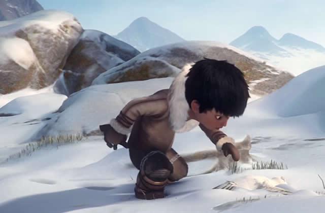 Tuurngait, l'adorable court-métrage avec un petit Inuit