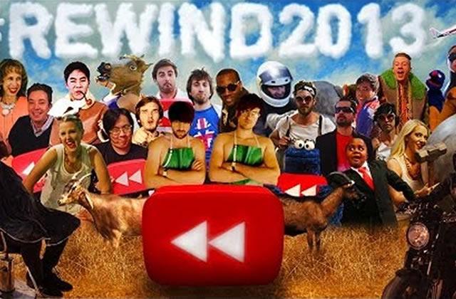 YouTube sort sa rétrospective de l'année 2013