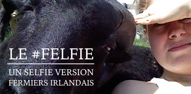 Le #felfie, un selfie version fermiers irlandais
