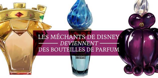 Les méchants de Disney deviennent des bouteilles de parfum