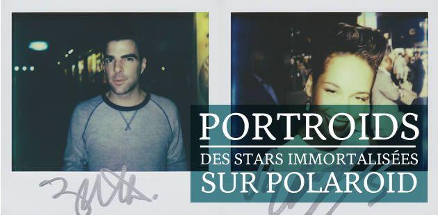 Portroids : des stars immortalisées sur Polaroid