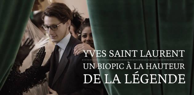 Yves Saint Laurent, un biopic à la hauteur de la légende