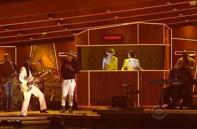 Daft Punk explose les Grammy Awards 2014 avec Get Lucky
