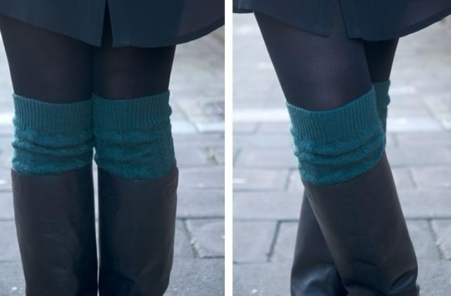Populaire DIY — De vraies chaussettes hautes en laine JR53