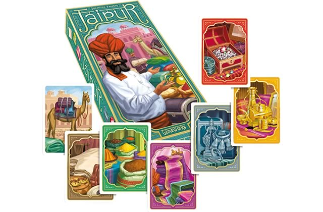 Jaipur et autres jeux pour deux personnes — Jouons en société !