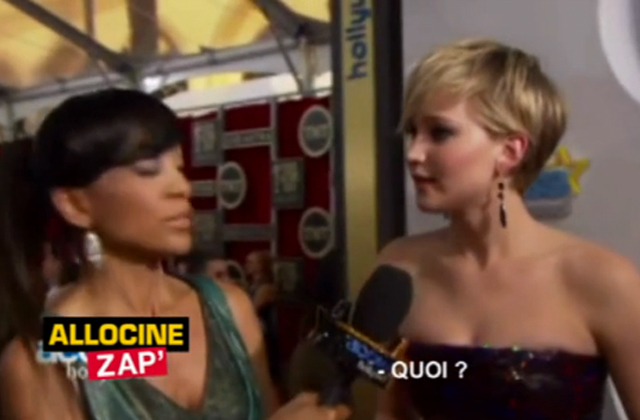 Jennifer Lawrence se fait spoiler Homeland en direct