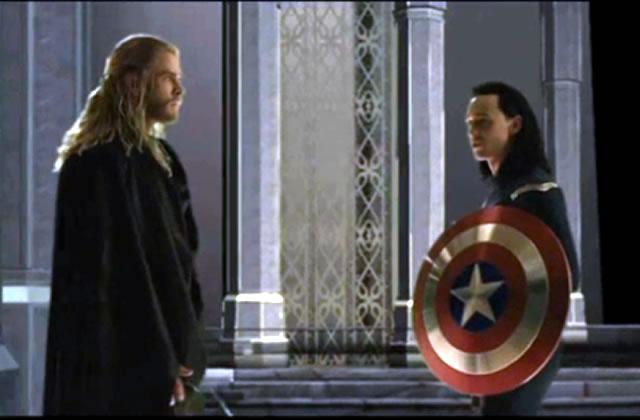 Loki en Captain America, le combo sexy