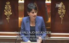 Najat Vallaud-Belkacem s'attaque à la «culture du viol décomplexée »