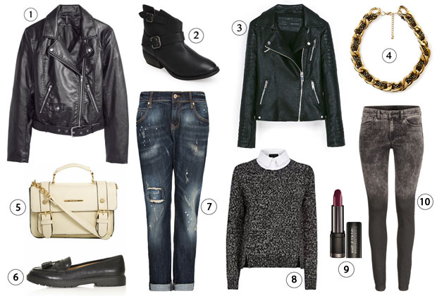 comment porter perfecto tenue rock
