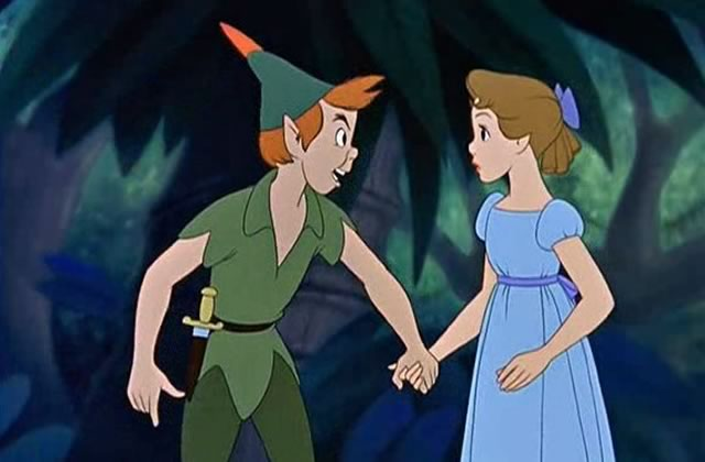 Peter Pan demande Wendy en mariage en vrai