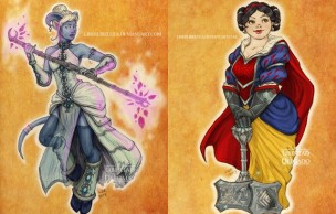 Lien permanent vers Les princesses Disney revisitées à la sauce World of Warcraft