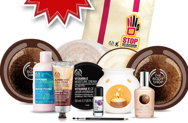 Le sac garni The Body Shop est de retour !