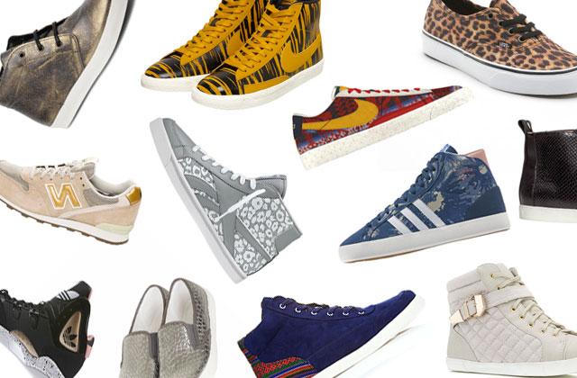 Sélection shopping spéciale sneakers