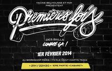 La soirée «Premières fois », ce samedi 1er février à Paris