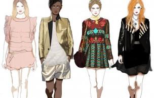 Lien permanent vers Les tendances mode printemps-été 2014
