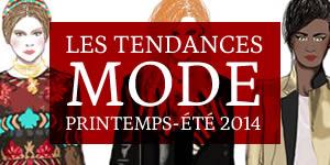 tendances mode été 2014