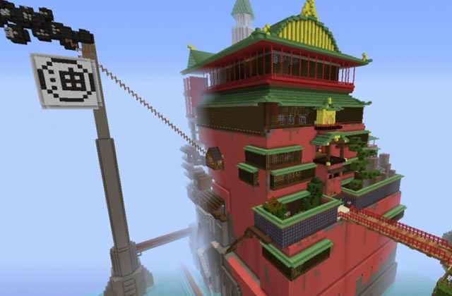 Le Voyage de Chihiro… sur Minecraft