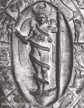 Eros-Phanes-bas-relief-gréco-romain