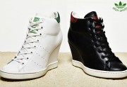 Adidas sort un modèle de Stan Smith compensé