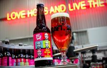 Une bière pour être, comme Poutine, un vrai bonhomme