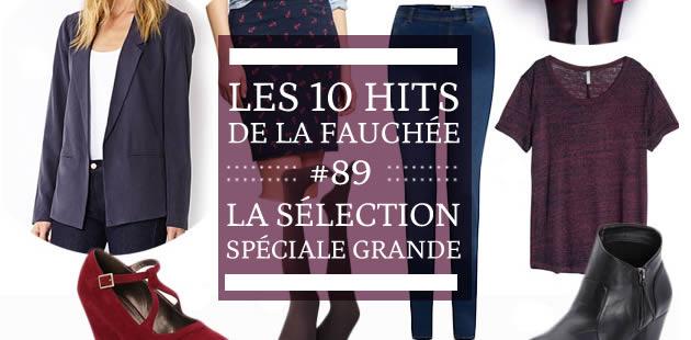 Les 10 Hits de la Fauchée #89 – La sélection spéciale grandes