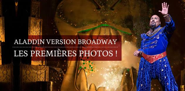 Aladdin version Broadway: les premières photos !