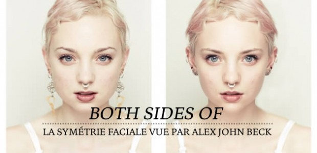 Both Sides Of : la symétrie faciale vue par Alex John Beck