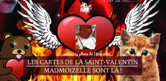 Les cartes de la Saint-Valentin madmoiZelle sont là !