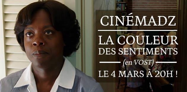 CinémadZ — La couleur des sentiments le 4 mars au MK2 Bibliothèque