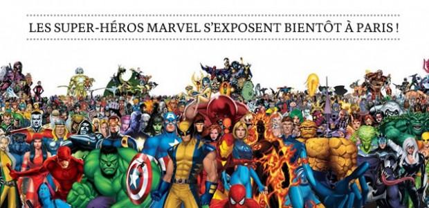 Les super-héros Marvel s'exposent bientôt à Paris !