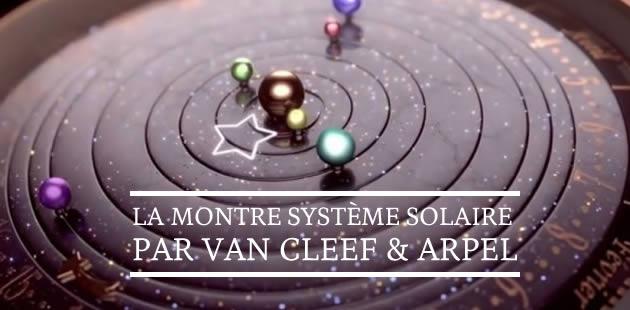 La montre système solaire par Van Cleef & Arpels