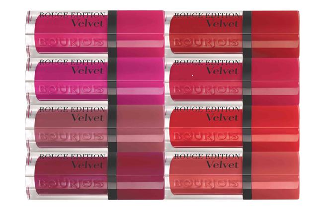Bourjois lance ses encres à lèvres mates Rouge Edition Velvet