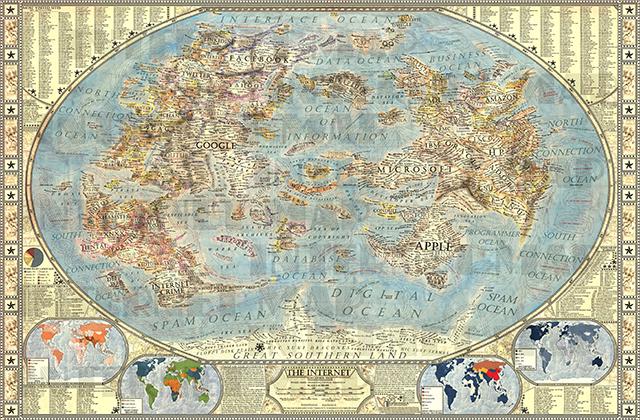 Jay Simons et sa cartographie de l'internet